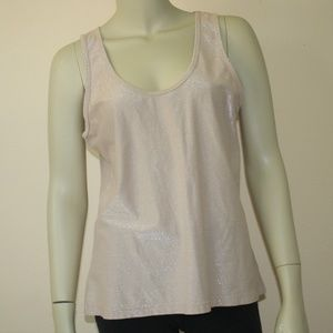 Soft Surroundings Shimmery Tank Top ~ Large